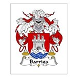 Barriga Family Crest  Small Poster