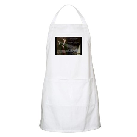 Newton's Absolute Space: BBQ Apron