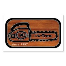 Chainsaw Rectangle Decal