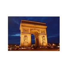 Arc de Triomphe Rectangle Magnet (10 pack)