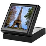 Eiffel Tower Keepsake Box