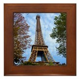 Eiffel Tower Framed Tile