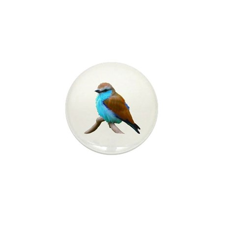 Bluebird Mini Button (10 pack)