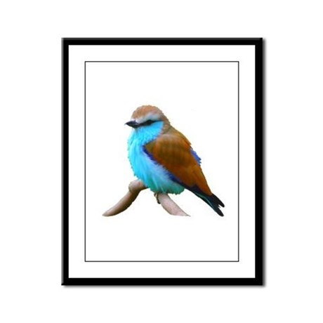 Bluebird Framed Panel Print