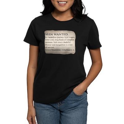Shackleton Antarctica - Women's Dark T-Shirt