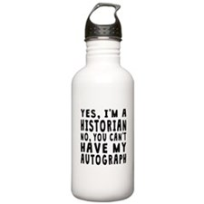 Historian Autograph Water Bottle
