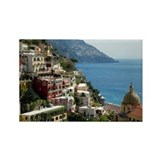 Amalfi Coast Rectangle Magnet