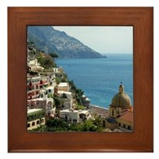 Amalfi Coast Framed Tile