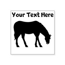 Horse Silhouette (Custom) Sticker