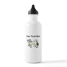Horse (Custom) Water Bottle