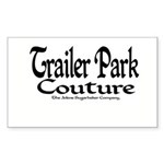 Trailer Park Couture Rectangle Sticker