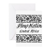 Pimp Nation Central Africa Greeting Cards (Pk of 2