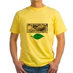 Baby Fence Lizard Yellow T-Shirt
