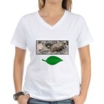 Baby Fence Lizard Women's V-Neck T-Shirt