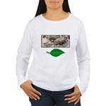 Baby Fence Lizard Women's Long Sleeve T-Shirt