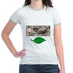 Baby Fence Lizard Jr. Ringer T-Shirt