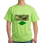 Baby Fence Lizard Green T-Shirt