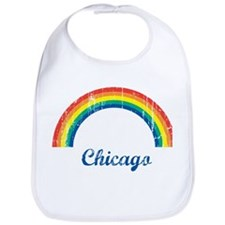 Chicago (vintage rainbow) Bib