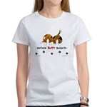 Nothin' Butt Bassets Women's T-Shirt