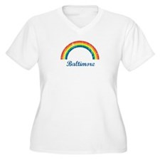 Baltimore (vintage rainbow) T-Shirt