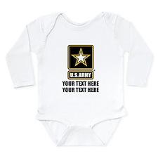 CUSTOM TEXT U.S. Army Body Suit