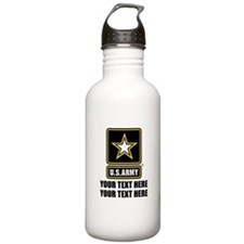 CUSTOM TEXT U.S. Army Water Bottle