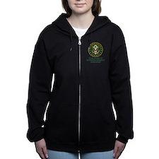 CUSTOM TEXT U.S. Army Women's Zip Hoodie