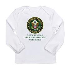 CUSTOM TEXT U.S. Army Long Sleeve T-Shirt