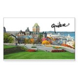 Old Quebec Pano with Signatur Sticker (Rectangular