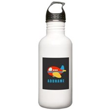 Cute Airplane For Kids Water Bottle