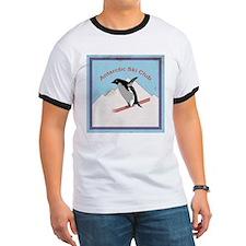 Penguin skier - Ringer T