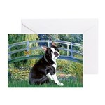 Bridge & Boston Ter Greeting Cards (Pk of 20)