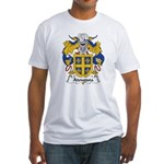 Atouguia Family Crest Fitted T-Shirt