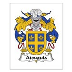 Atouguia Family Crest Small Poster