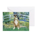 Bridge & Boxer Greeting Cards (Pk of 20)