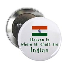 "Indian Chefs 2.25"" Button (10 pack)"