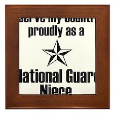 Serve NG Niece Framed Tile
