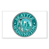 Seattle, Washington Rectangle Decal