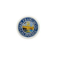 San Francisco California Mini Button