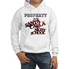 Santa Carla Night School Standard Font Sweatshirt