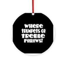 Trumpet Keepsake Ornament