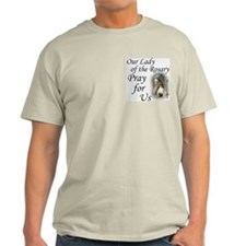 Our Lady of the Rosary (2) Ash Grey T-Shirt