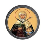 St. Brigid of Ireland Wall Clock