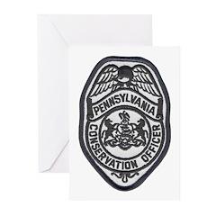 Pennsylvania Game Warden Greeting Cards (Pk of 10)