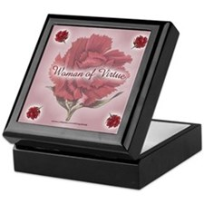 WOMAN OF VIRTUE Keepsake Box