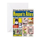 Hogan's Alley 1950s-Style Cards (Pk of 10)
