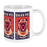 Obey the Shar Pei! Propaganda Small Mug