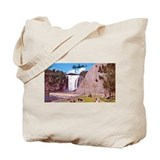 Montmorency Falls Quebec Sign Tote Bag