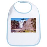 Montmorency Falls Quebec Sign Bib