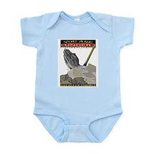 Cute Construction forms Infant Bodysuit